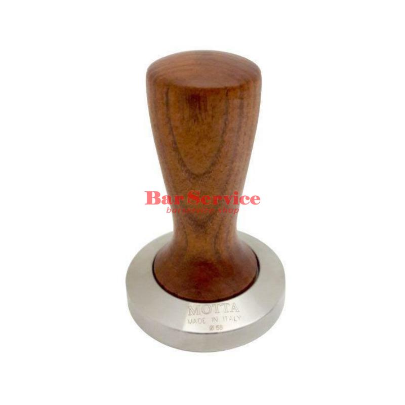 Темпер Мотта SLIM 58 мм. (плоский) рукоятка из дерева в Воронеже