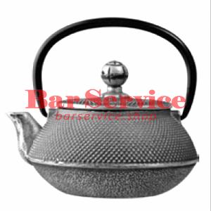 Чайник с ситечком; чугун; 650 мл; D=8.7,H=9.4,L=14.5; черный в Воронеже